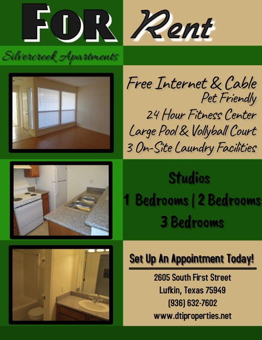 Apartment For Rent Template Postermywall