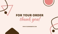 For Your Order Templates Label