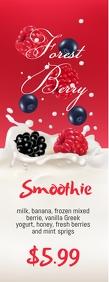 Forest Berry Smoothie Halfbladsy Brief template