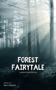 Forest Fairytale book cover movie template