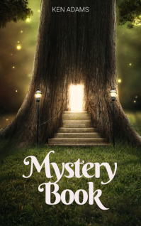 Forest Mystery Book Cover Template Capa do Kindle