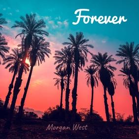 Forever Album cover template