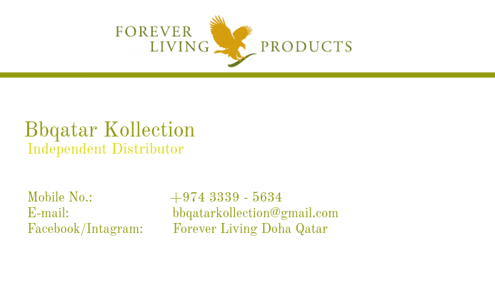 Forever Living Business Card