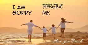 forgive me Gambar Bersama Facebook template