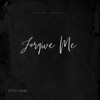 Forgive Me Mixtape Album Cover Template Okładka albumu