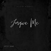 Forgive Me Mixtape Album Cover Template
