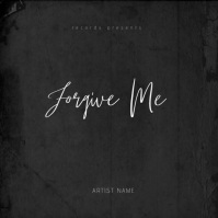 Forgive Me Mixtape Video Album Cover Template