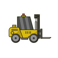 Forklift Logo template