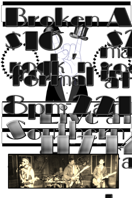 Formal Party Concert Announcement Template | PosterMyWall