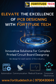 Fortitude PCB Design 24.01.20 Grafik Pinterest template
