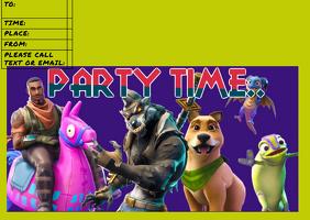 fortnite party invite