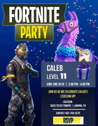 Fortnite Party with Present