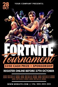 Fortnite Tournament Poster