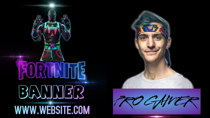 FORTNITE TWITCH BANNER TEMPLATE