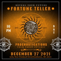 Fortune Teller Event Instagram Template