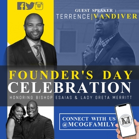 Founder's Day Celebration Flyer