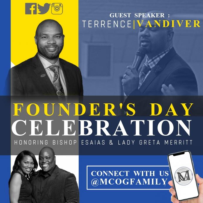 Founder's Day Celebration Flyer