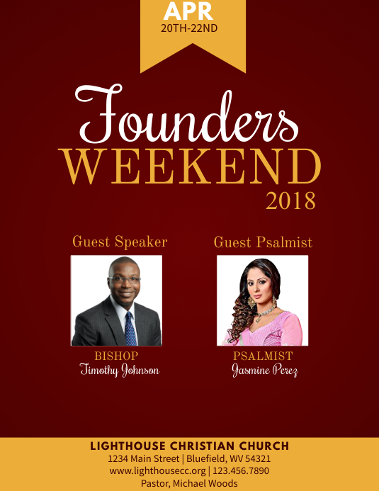 Founders Weekend