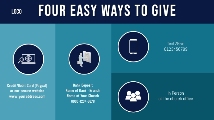 four easy ways to give Tampilan Digital (16:9) template