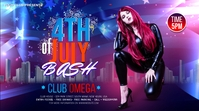 fourth of July Celebration ads Twitter 帖子 template