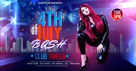 fourth of July Celebration ads Gambar Bersama Facebook template
