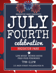 fourth of july flyer template free koni polycode co