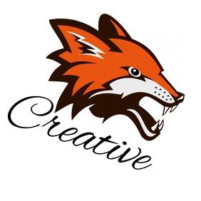 fox logo design template free