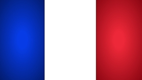 France Flag Template Facebook 封面视频 (16:9)