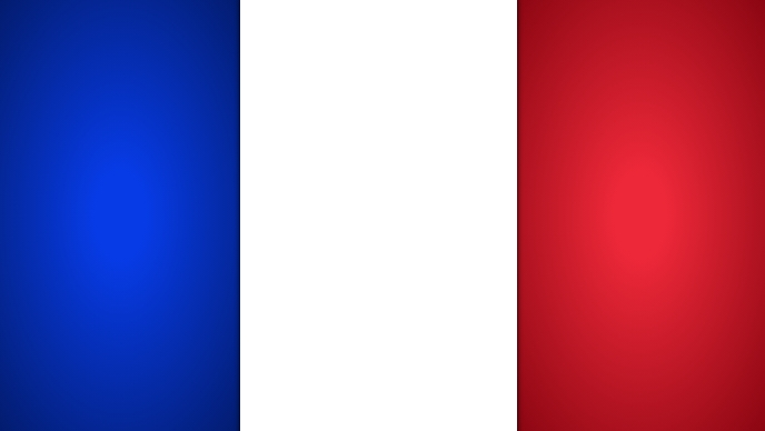 France Flag Template Facebook Cover Video (16:9)