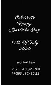 FRANCE INDEPENDENCE DAY FLYER US Legal template