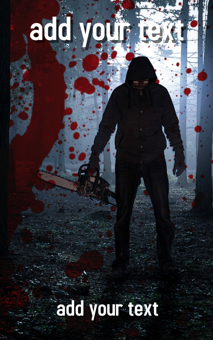 Gratis Desain Sampul Buku Horor Thriller Novel Templat Postermywall