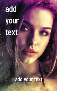 FREE!!! Novel Book Cover Design template