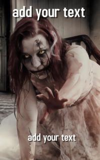 FREE!!! Zombie Vampire Horror Novel Book Cover Design templa
