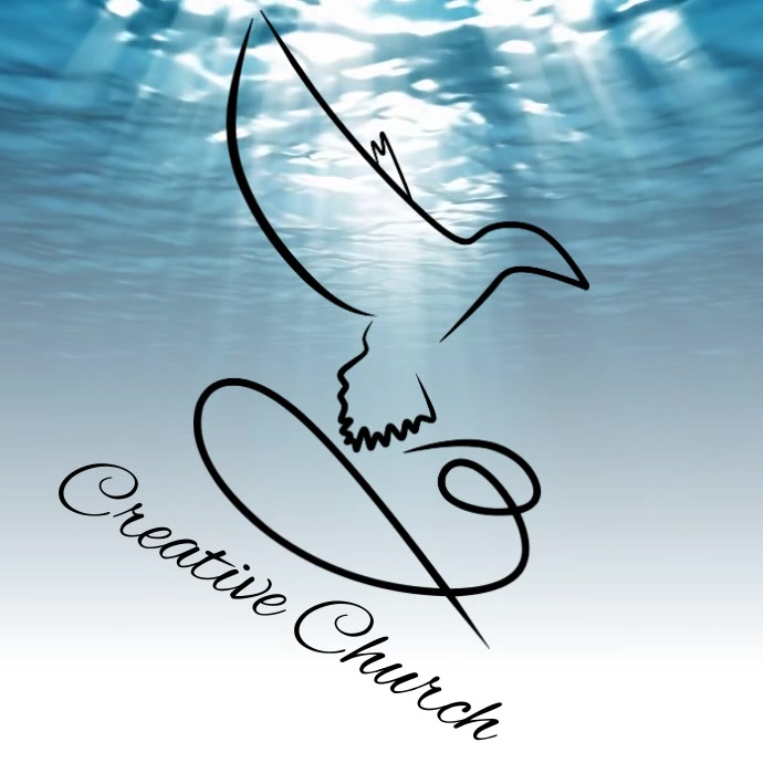 free church logo DIGITAL design template