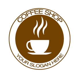 FREE COFFEE SHOP LOGO DESIGN TEMPLATE