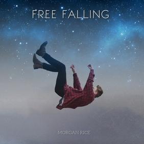 free falling album art Instagram 帖子 template