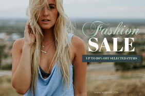 Free Fashion Sale Flyer Template