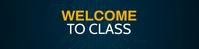 Free Google Classroom Banner Maker template