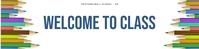 Free Google Classroom banner template