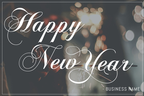 free happy new year greeting template