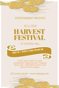 Free Harvest Festival Flyer Template