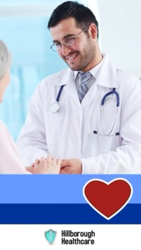 Free health check day poster Historia de Instagram template