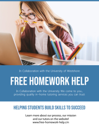 Free Home Work Help Flyer Template