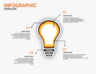 free Infographic Template Volante (Carta US)