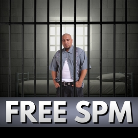 FREE JAIL PRISON FLYER GRAPHIC