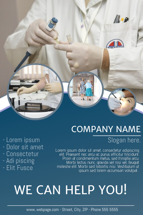 Free Medical Doctor Flyer Template for Medical Business
