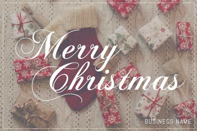 Modèle Carte de Voeux Joyeux Noël Gratuit pour la Noël   PosterMyWall