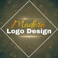 free modern logo design template