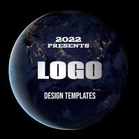 free modern logo design template Logotipo