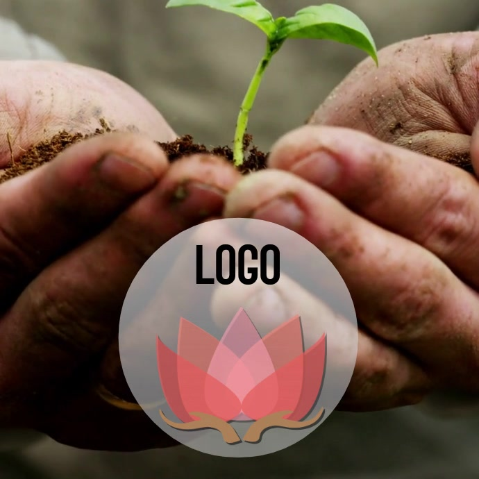 FREE ORGANIC LOGO DESIGN TEMPLATE VIDEO